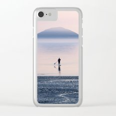 Heading to Blue Island Clear iPhone Case