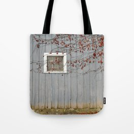 Blue Fall Tote Bag