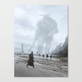 stranger in a strange land Canvas Print