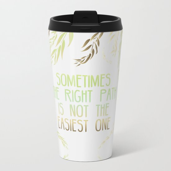 Grandmother Willow's Words Metal Travel Mug