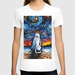 Jack Russell Terrier Night T-shirt