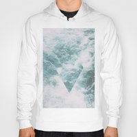 norway Hoodies featuring Norway - Nebula - with triangles! by Andrej Stern
