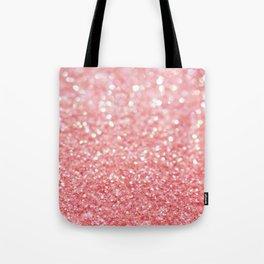 pink sparkle Tote Bag