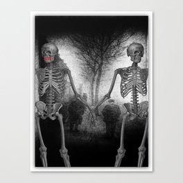 True Love Can Overcome Anything! Canvas Print