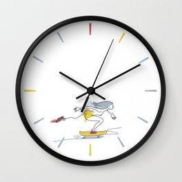 Dana flow One [pasty] Wall Clock