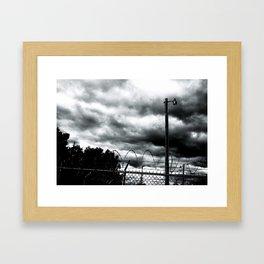 Detroit photo Framed Art Print