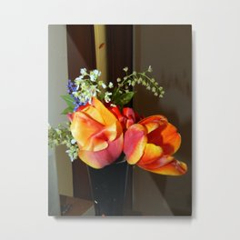 Bouquet of flowers composition Metal Print