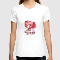 madoka magica T-shirts featuring Madoka Kaname by lythy