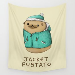 Jacket Pugtato Wall Tapestry