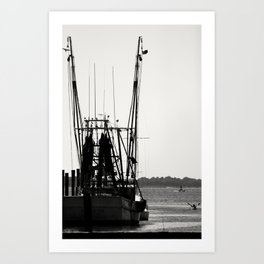 Float Your Boat Art Print