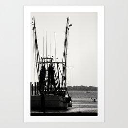 Float Your Boat Art Print