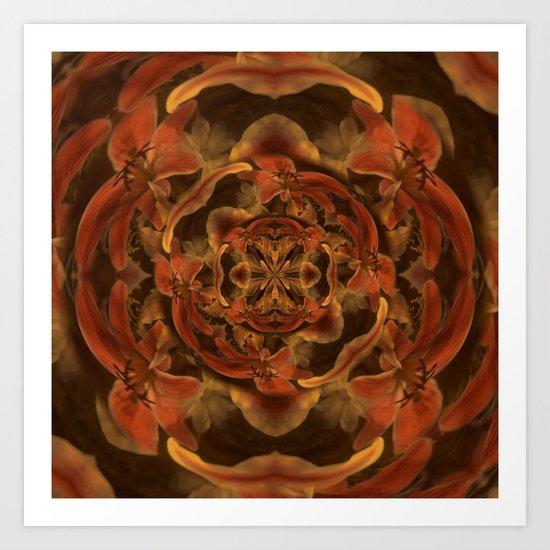 Composición floral Art Print