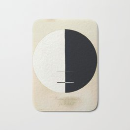 Hilma af Klint, Buddha's Standpoint in the Earthly Life, 1920 Bath Mat