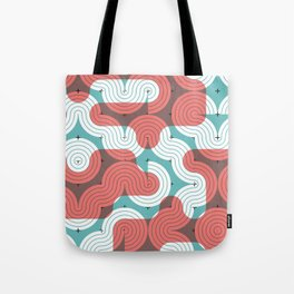 CONNECTED #4 Tote Bag