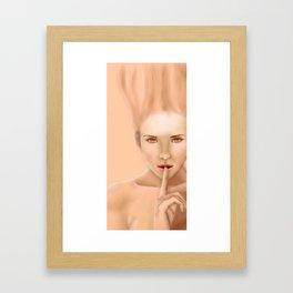 Je suis: Candle Framed Art Print