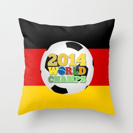 2014 World Champs - Germany Throw Pillow