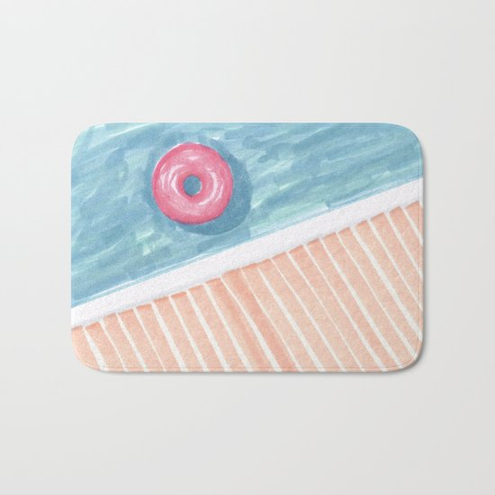 Alone #society6 #decor #buyart Bath Mat