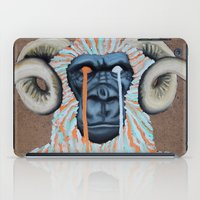 sweater iPad Cases featuring Gorilla Sweater by Prince Pat