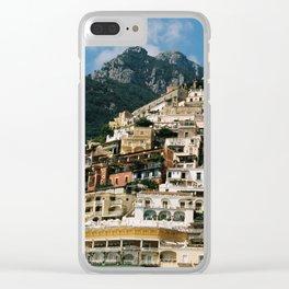 Spiaggia di Positano Clear iPhone Case