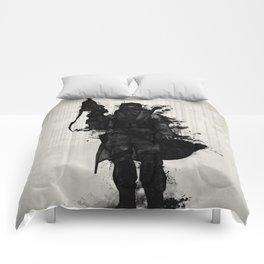 Post Apocalyptic Warrior Comforters