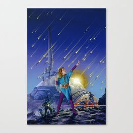 Bombardment Canvas Print