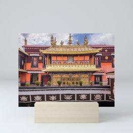The Jokhang Temple in Lhasa, Tibet Mini Art Print