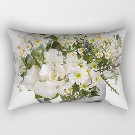 Flowers Spirit Collage Rectangular Pillow