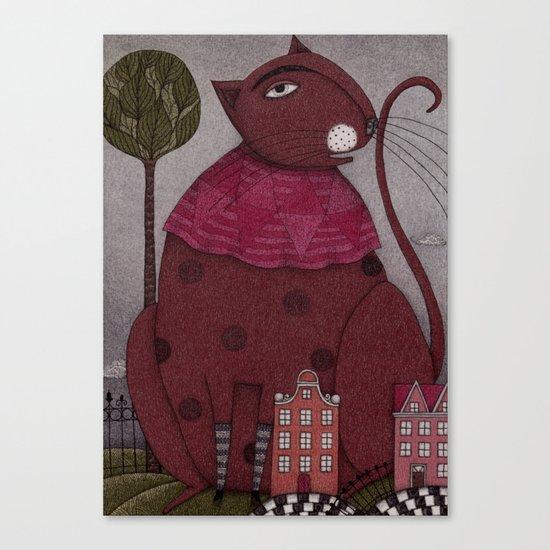 It's a Cat! Canvas Print