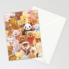 Teddy bears Stationery Cards