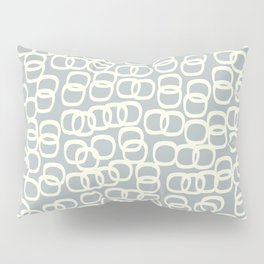 Black Tie Collection Links Grey Pillow Sham