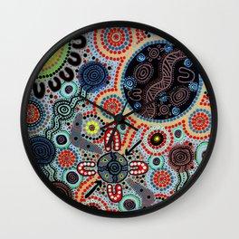 Yindyamarra - Respect the Process Wall Clock