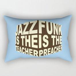 Jazz Funk Cube Rectangular Pillow