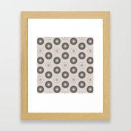 Fractal Cogs n Wheels in CMR01 Framed Art Print