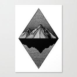Silent Lake Canvas Print