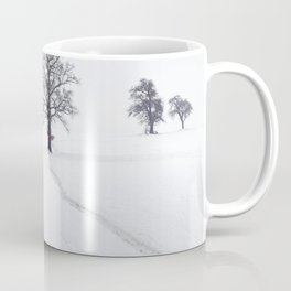 Rural Winter Landscape Coffee Mug