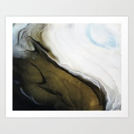 Slice of Heaven - Original Abstract Painting Art Print
