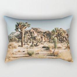 Shapes and Sizes- Joshua Tree Rectangular Pillow