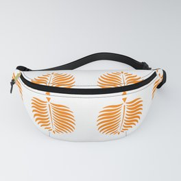 TROPICAL PALMS . TANGERINE Fanny Pack