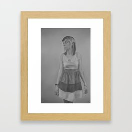 Fran Framed Art Print