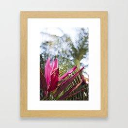 FL Color Pop Framed Art Print