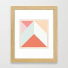 Ultra Geometric II Framed Art Print