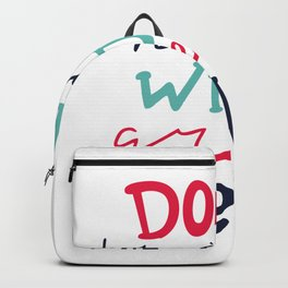 Do All Things With Great Love Backpack