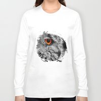 andreas preis Long Sleeve T-shirts featuring ORANGE OF MY EYE by Catspaws