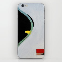 Eliminate Clutter (oil on canvas) iPhone Skin