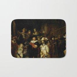 Rembrandt, The night watch, de nachtwacht Bath Mat