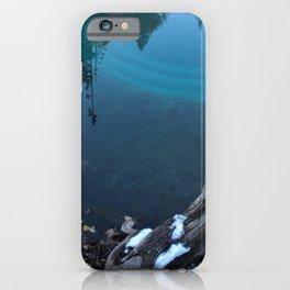 geyser lake iPhone Case