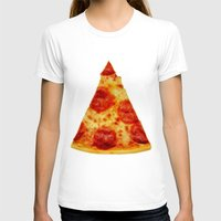 pizza T-shirts featuring PIZZA by @thecultureofme