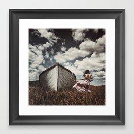 {Fjara} Framed Art Print