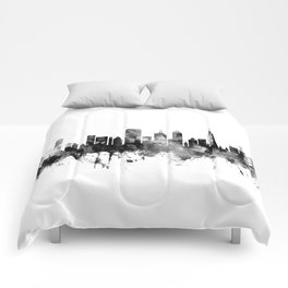 San Francisco City Skyline Comforters