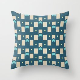 Art Deco Geometric Pattern 274 Throw Pillow